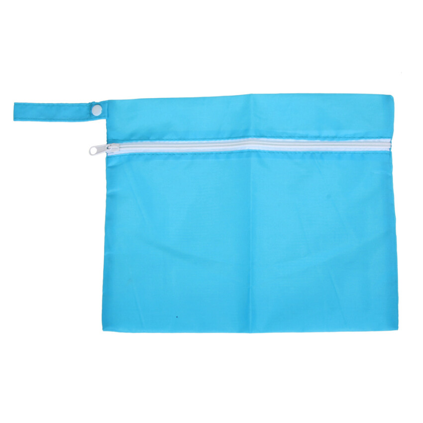 Waterproof Baby Stroller Nappy Storage Bag (Blue) ...