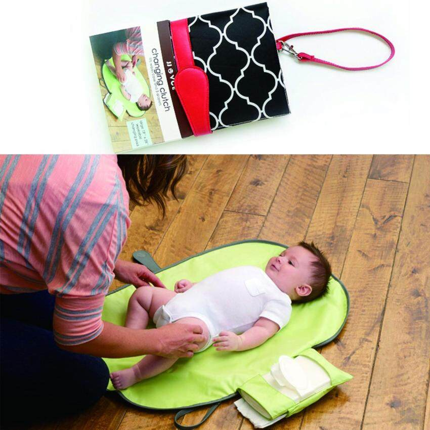 Waterproof Portable Diaper Baby Nappy Changing Pad Cover Mat - intl