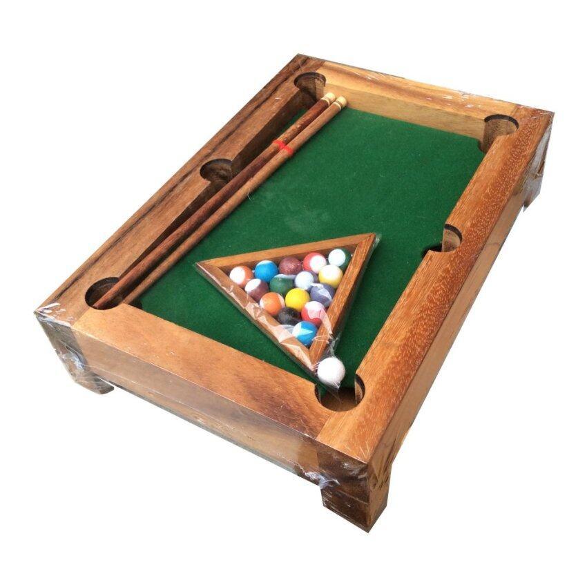ด่วน Wood Toy ของเล่นไม้ สนุ๊กเกอร์ Fancy Billiard game ลดราคา
