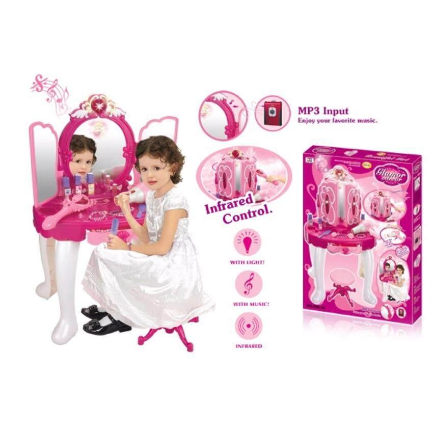 ของเล่นเด็ก ชุดของเล่น โต๊ะเครื่องเเป้ง Xiong ching 008-18 ...