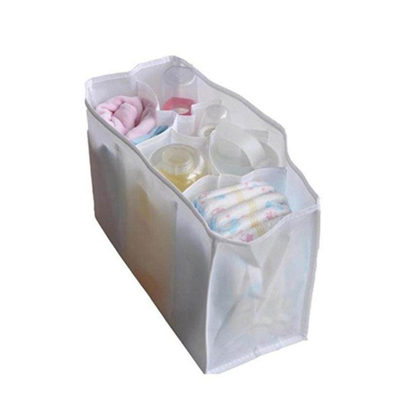 Zhuoda Travel Outdoor Baby Diaper Nappy Organizer Stuffs Insert Storage Bag - intl