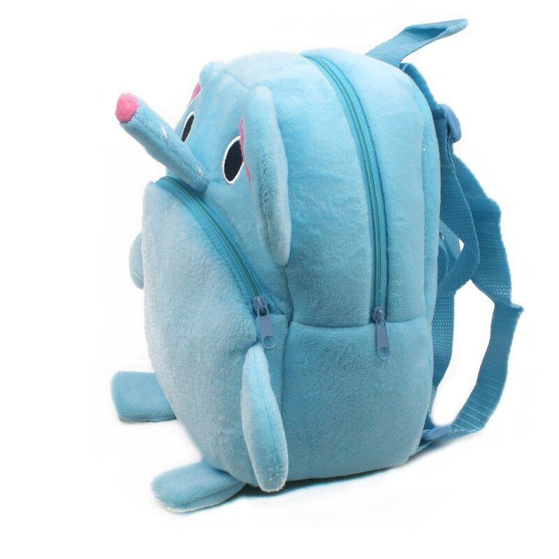 Zmomma Baby Early Learning Kai Meng Education Elephant bags backpack(Blue)