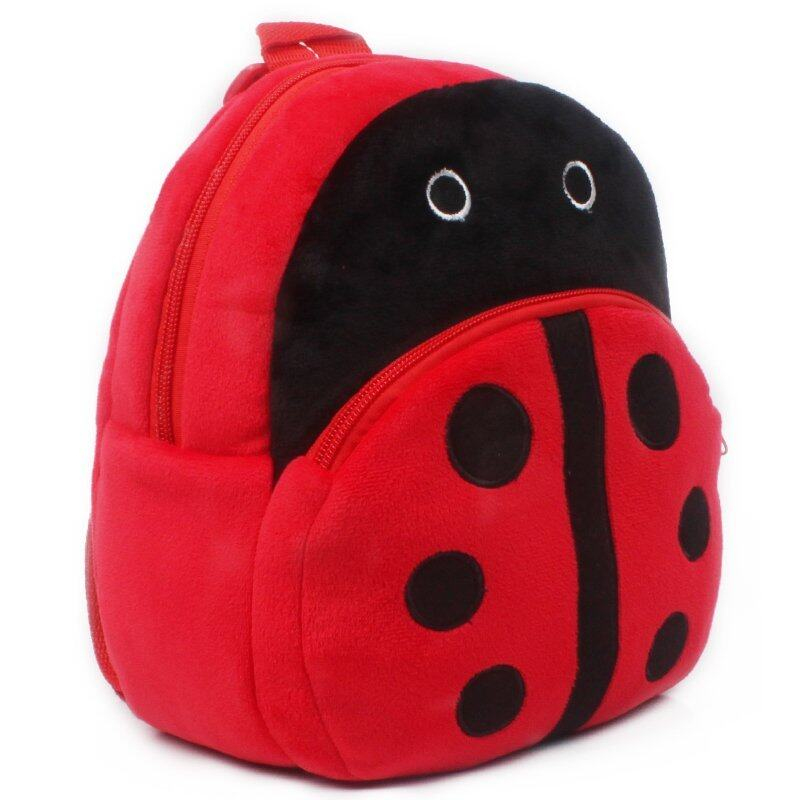 Zmomma Ladybug Kindergarten Kids toys school bags backpack(Red)