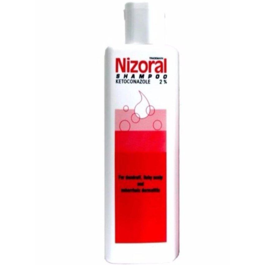 (1 ขวดx200 ml.) Nizoral Shampoo 200 ml Ketoconazole 2% ไนโซรัล แชมพู คีโทโคนาโซล ขจัดรังแค อาการคันศรีษะ 200 ML