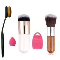 5pcs Makeup Brush Makeup Sponge Makeup Brush Cleaner Foundation Brush - Intl ราคา 327 บาท(-68%)