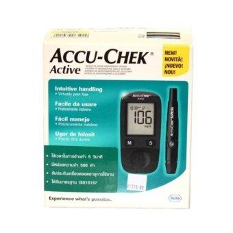 Accu-Chek Active เครื่องวัดน้ำตาล