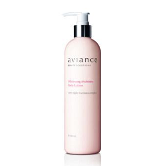 Aviance โลชั่นบำรุงผิวกาย กระจ่างใส Whitening Moisture Body Lotion 380 ml