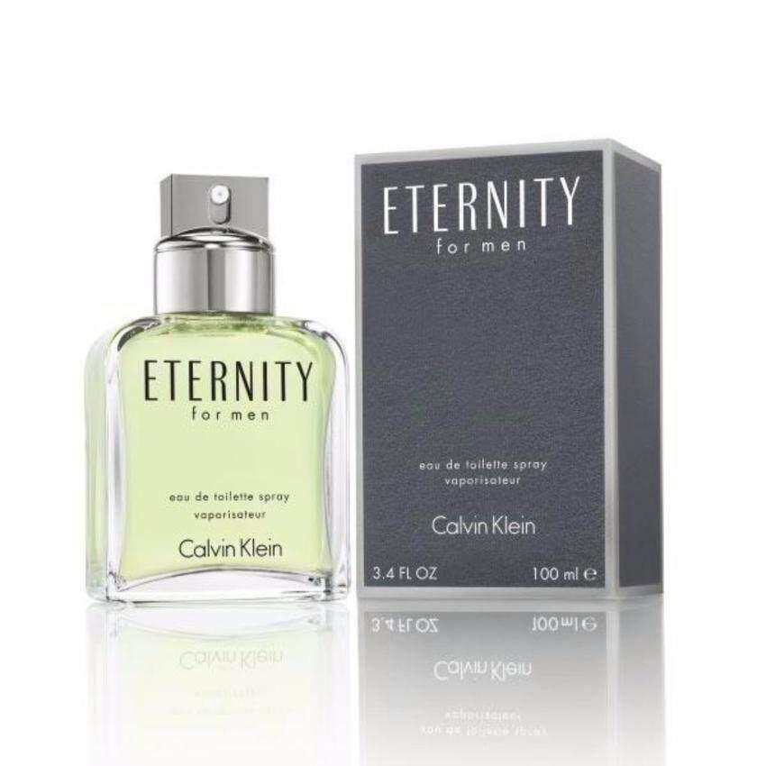 แนะนำเลยครับ Calvin Klein Eternity for Men EDT 100 ml.พร้อมกล่อง เยี่ยมเลย