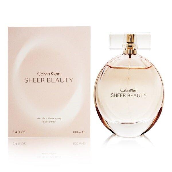 แนะนำเลยครับ Calvin Klein Sheer Beauty for women EDT (100 ml.) พร้อมกล่อง เยี่ยมเลย