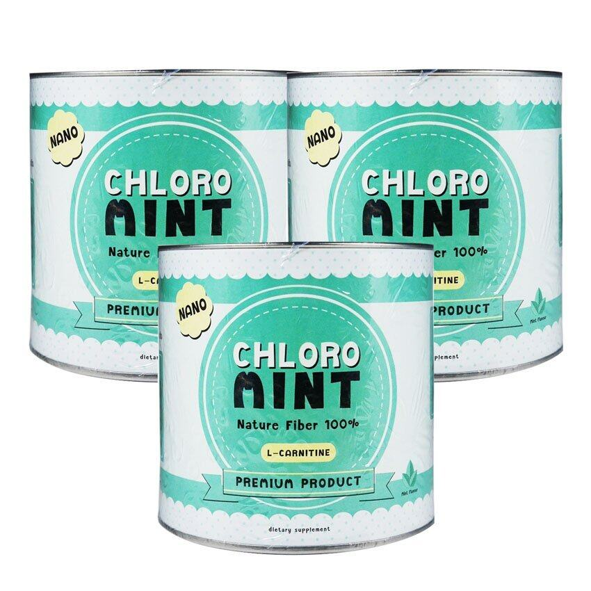 สุดยอดChloro Mint คลอโรมิ้นต์ ผลิตภัณฑ์เสริมอาหารคลอโรฟิลล์ล้างสารพิษในร่ายกาย (100กรัม x 3 กระปุก) ที่คุณต้องซื้อ