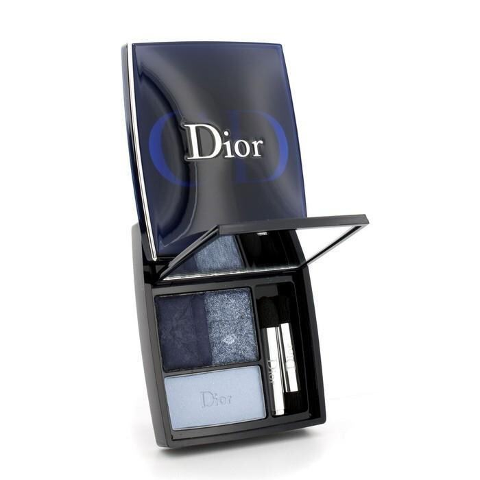 Christian Dior 3 Couleurs Smoky Ready To Wear Eyes Palette - # 291 Smoky Navy 5.5g/0.19o ...