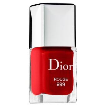 CHRISTIAN DIOR Dior Vernis Gel Shine and Long Wear Nail Lacquer 999 ROUGE 10ml. (TESTER)