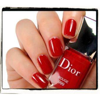Dior Vernis Nail Lacquer 999 Rouge 7 ml. ยาทาเล็บ