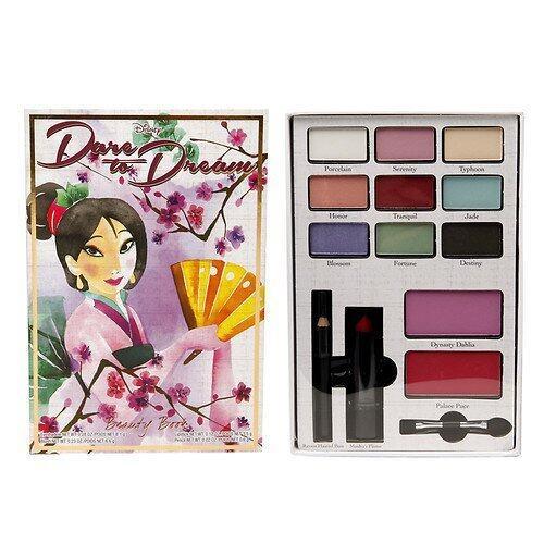 Disney Dare To Dream Beauty Book, Mulan ...