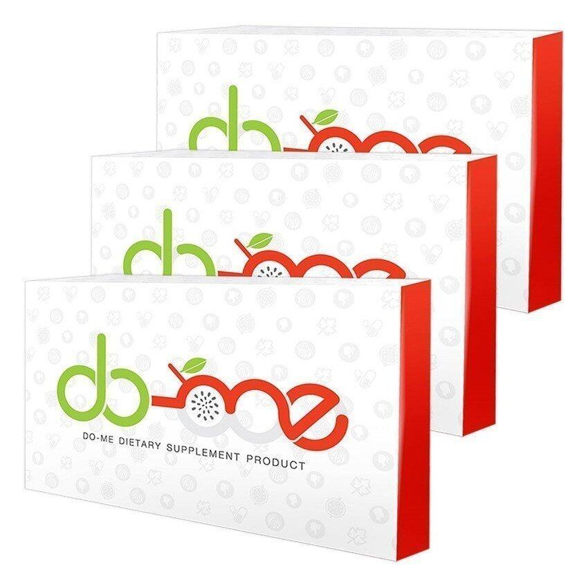 Dome วิตามินโดม by โดม ปกรณ์ ลัม 30 เม็ด/ 3 กล่อง ...