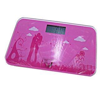 Electronic Bathroom Scale เครื่องชั่งน้ำหนักดิจิตอล (Pink)