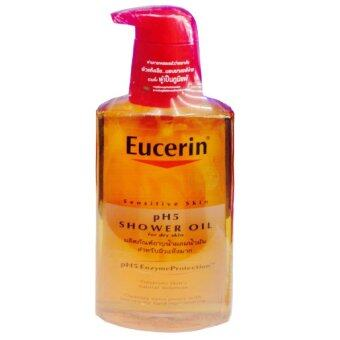 Eucerin Sensitive Skin pH5 Shower Oil For Dry Skin 400 ml