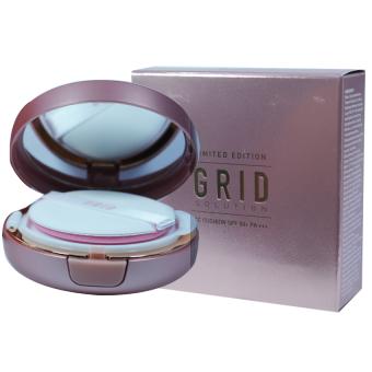 Grid Solution CC Cushion Limited Editionแป้งกริด ซีซี คุชชั่น สูตรควบคุมความมัน15กรัม(1กล่อง)