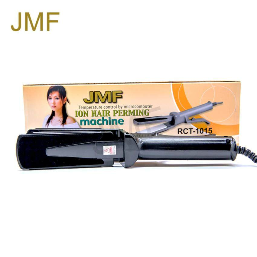 JMF เครื่องหนีบผม หน้ากว้าง ION HAIR PERMING MACHINE รุ่น RCT-1015 สีดำ ...