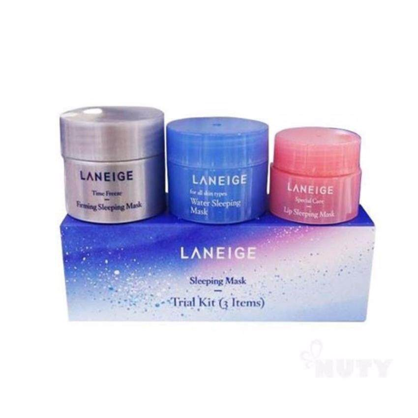 Laneige Sleeping Mask Trial Kit (3 Items) ชุดสลิปปิ้งมาส์กขายดี Milkyway Fantasy (Holiday Edition) ...