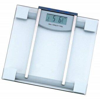 Lotte เครื่องชั่งน้ำหนัก กระจกใส LCD ดิจิตอล รุ่น Body Fat  Hydration ชั่ง นน.+วัดสุขภาพ 2in1 (max 150 Kg)