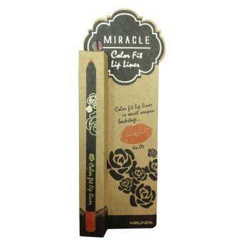 Mei linda Miracle Color Fit Lip Liner ลิปไลเนอร์เนื้อครีมกึ่งแมทท์ #04 Tangerine (1 แท่ง)