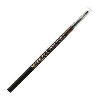 Merrezca Perfect brow Pencil #Deep Brown