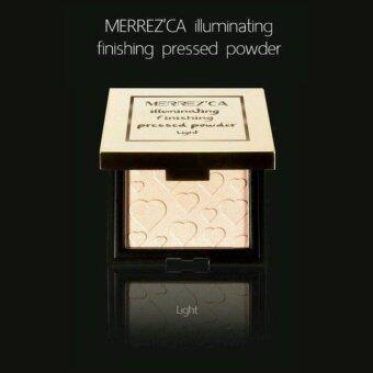 Merrezca Set Illuminating Finishing Pressed Powder #Light