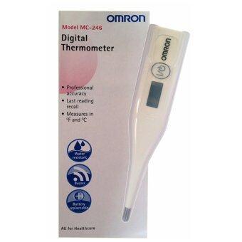 Omron ปรอทวัดไข้ดิจิตอล Digital Thermometer MC 246