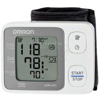 Omron เครื่องวัดความดันโลหิตข้อมือ HEM-6131