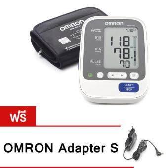 OMRON เครื่องวัดความดันโลหิตแบบอัตโนมัติ รุ่น HEM-7130-L แถมฟรี OMRON Adapter S มูลค่า 730 บาท