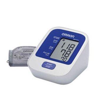 Omron เครื่องวัดความดัน รุ่น HEM-8712 แถมฟรี เทอร์โมมิเตอร์ Omron MC-245 /set (2 set )
