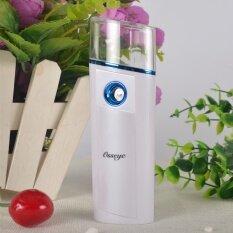 Portable Mini Nano Spray Water Replenishing Instrument, Charging Type Steaming Face, Hand Holding Facial Moisturizing Beautifying Humidifier Gold - Intl ราคา 660 บาท(-60%)