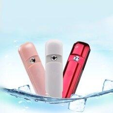 Portable Nano Mist Sprayer Facial Body Nebulizer Steamer Moisturizing Skin Mini Face Cold Spray Beauty Instruments Device Pink - Intl ราคา 774 บาท(-54%)