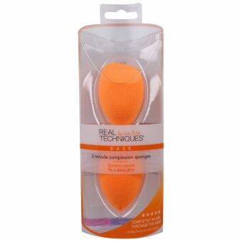 Real Technique 2 Miracle Complexion Sponges ฟองน้ำไข่เกลี่ยรองพื้น 2 ชิ้น
