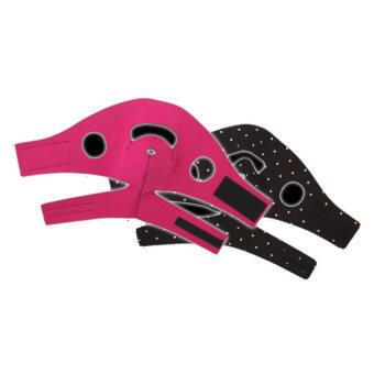 Shape Zone HOT & SHAPE Sauna Mask Reversible For V SHAPE (Black+Pink)