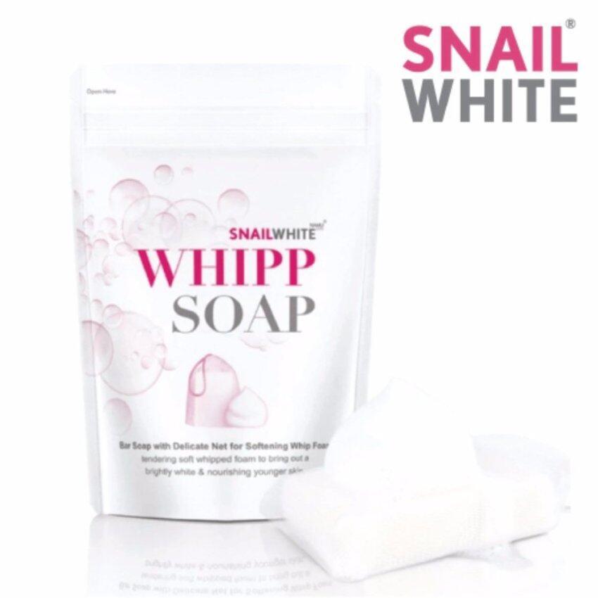 Snail White Whipp Soap สเนลไวท์ วิป โซป 100 กรัม