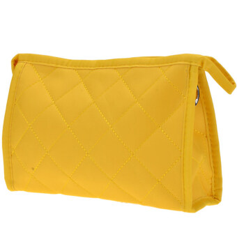 Toprank Cosmetic Bag Portable Travel Storage Bag Organizer Makeup Bag (Yellow)