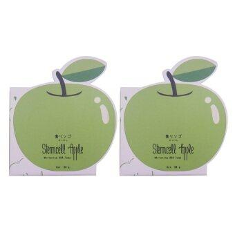 Vivistilla Stemcell Apple Whitening AHA Soap สบู่สเต็มเซลล์แอปเปิ้ล 80g. 2 กล่อง