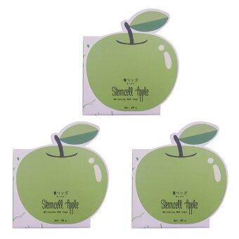 Vivistilla Stemcell Apple Whitening AHA Soap สบู่สเต็มเซลล์แอปเปิ้ล 80g. 3 กล่อง