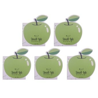Vivistilla Stemcell Apple Whitening AHA Soap สบู่สเต็มเซลล์แอปเปิ้ล 80g. 5 กล่อง
