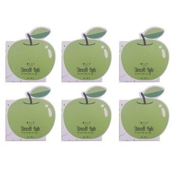 Vivistilla Stemcell Apple Whitening AHA Soap สบู่สเต็มเซลล์แอปเปิ้ล 80g. 6 กล่อง