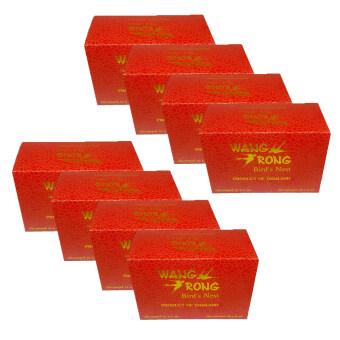 Wang Rong รังนกแท้พร้อมดื่ม (กล่อง 6ขวดx8)