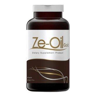 Ze-Oil ซีออยล์ น้ำมันสกัดเย็น 4 ชนิด 300 แคปซูล