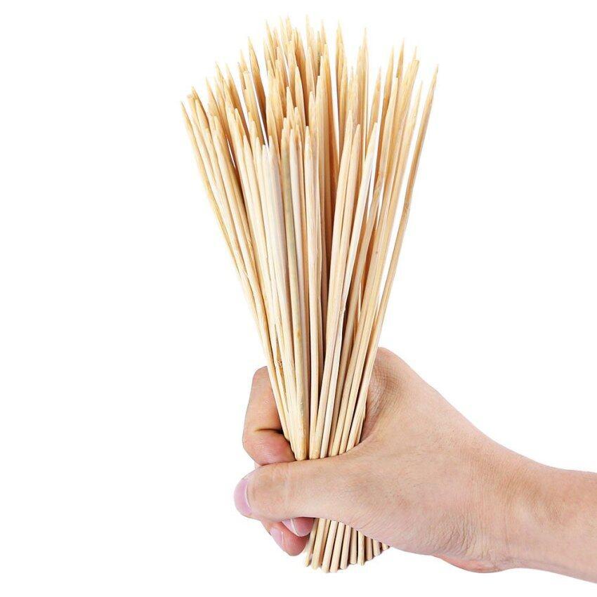 100pcs Disposable Bamboo Skewer for Barbecue Shish Kebab ...