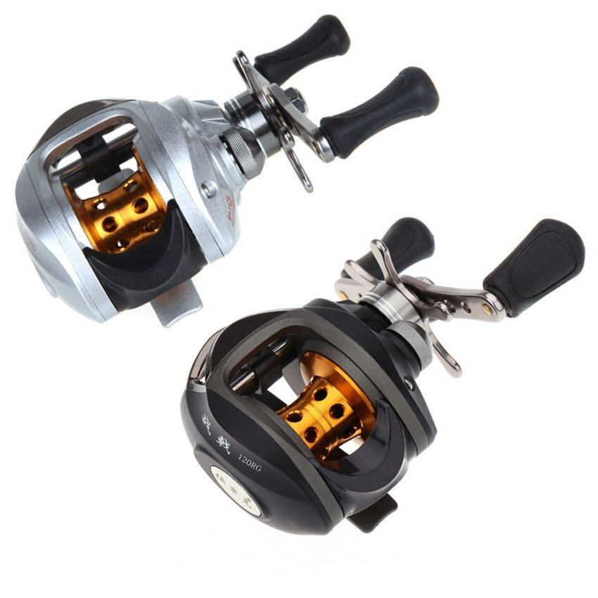 10BB 6.3:1 Right Hand Bait Casting Fishing Reel 9Ball Bearings + One-way