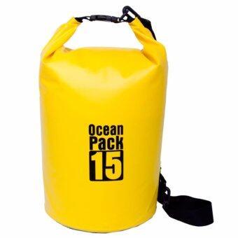กระเป๋ากันน้ำ ถุงทะเล ถุงกันน้ำ ความจุ 15 ลิตร