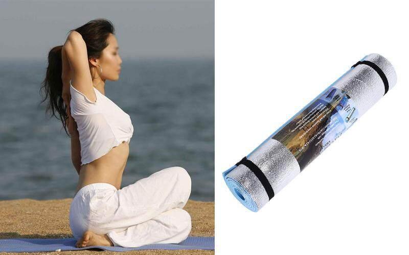 180x50x0.6cm Mat Pad Waterproof For Yoga Sleeping Picnic Exercise Lightweight - intl