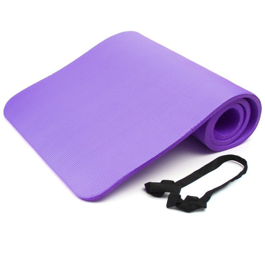 183x61cm 15mm Tappetino Yoga Mat Pillates Fitness Gym
