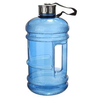 2 PCS 2.2 Liter (Half Gallon) 64oz BPA-Free Large Training Gym Water Bottle Handle